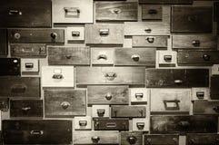 αρχειοθέτηση γραφείων παλαιά Στοκ Εικόνα