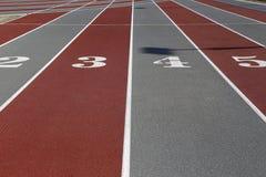 Αρχειοθετημένες αθλητισμός γραμμές Στοκ εικόνες με δικαίωμα ελεύθερης χρήσης