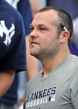 Αρχιθαλαμηπόλος Joba - στάμνα των New York Yankees στοκ φωτογραφία