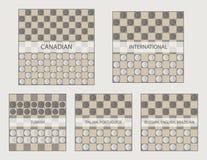 Αρχικές θέσεις στη διανυσματική απεικόνιση παιχνιδιών έλξεων Στοκ φωτογραφία με δικαίωμα ελεύθερης χρήσης