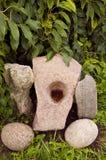 αρχικές πέτρες κήπων Στοκ φωτογραφίες με δικαίωμα ελεύθερης χρήσης