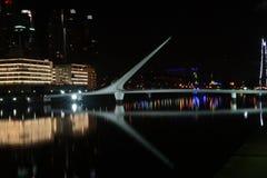 Αρχική γέφυρα σχεδίου στο Μπουένος Άιρες Στοκ φωτογραφία με δικαίωμα ελεύθερης χρήσης
