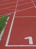 Αρχική γραμμή raceway στοκ φωτογραφίες με δικαίωμα ελεύθερης χρήσης