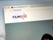 Αρχική σελίδα FilmRise, Στοκ φωτογραφία με δικαίωμα ελεύθερης χρήσης