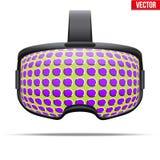 Αρχική στερεοσκοπική τρισδιάστατη κάσκα VR απεικόνιση αποθεμάτων