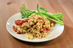 Αρχική ταϊλανδική σαλάτα καλαμποκιού Στοκ Εικόνες