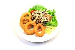 Αρχική ταϊλανδική σαλάτα καλαμποκιού Στοκ εικόνες με δικαίωμα ελεύθερης χρήσης