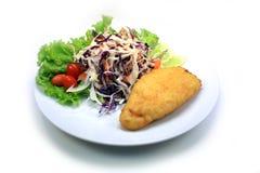 Αρχική ταϊλανδική σαλάτα καλαμποκιού Στοκ Εικόνα