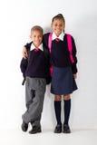 αρχικοί μαθητές στοκ φωτογραφία με δικαίωμα ελεύθερης χρήσης