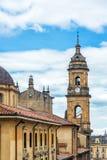 Αρχικός καθεδρικός ναός στη Μπογκοτά, Κολομβία Στοκ εικόνες με δικαίωμα ελεύθερης χρήσης
