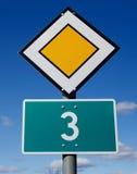 Αρχικός δρόμος τρία στοκ εικόνα με δικαίωμα ελεύθερης χρήσης