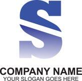 Αρχικό σχέδιο λογότυπων γραμμάτων S Στοκ Εικόνες