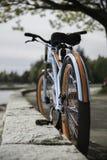 Αρχικό σχεδιασμένο ποδήλατο Στοκ εικόνες με δικαίωμα ελεύθερης χρήσης