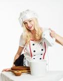 Αρχιμάγειρας γυναικών στοκ εικόνες