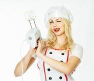 Αρχιμάγειρας γυναικών στοκ φωτογραφία με δικαίωμα ελεύθερης χρήσης
