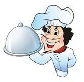 Αρχιμάγειρας εστιατορίων Στοκ Φωτογραφία