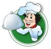 Αρχιμάγειρας εστιατορίων Στοκ Φωτογραφίες