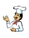 αρχιμάγειρας ιταλικά Στοκ εικόνα με δικαίωμα ελεύθερης χρήσης