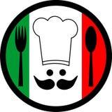 αρχιμάγειρας ιταλικά Στοκ φωτογραφία με δικαίωμα ελεύθερης χρήσης