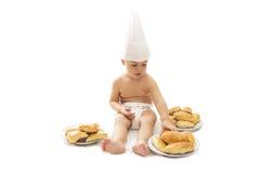 αρχιμάγειρας μωρών στοκ φωτογραφία