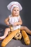 αρχιμάγειρας μωρών Στοκ Εικόνα