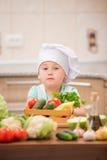 Αρχιμάγειρας παιδιών Στοκ φωτογραφίες με δικαίωμα ελεύθερης χρήσης