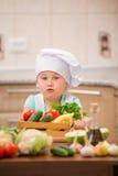 Αρχιμάγειρας παιδιών Στοκ Φωτογραφίες