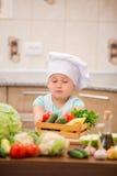 Αρχιμάγειρας παιδιών Στοκ Εικόνα