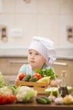 Αρχιμάγειρας παιδιών Στοκ Φωτογραφία