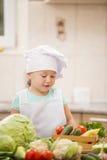 Αρχιμάγειρας παιδιών Στοκ φωτογραφία με δικαίωμα ελεύθερης χρήσης