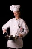 αρχιμάγειρας που παρου&s Στοκ Εικόνα