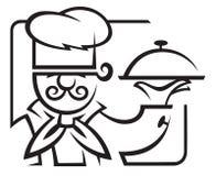αρχιμάγειρας Στοκ φωτογραφία με δικαίωμα ελεύθερης χρήσης
