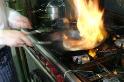 αρχιμάγειρας Στοκ εικόνες με δικαίωμα ελεύθερης χρήσης