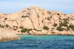αρχιπέλαγος Maddalena Στοκ Φωτογραφίες