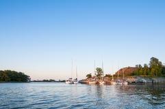 Αρχιπέλαγος Norrpada Στοκχόλμη Leisureboats Στοκ φωτογραφίες με δικαίωμα ελεύθερης χρήσης