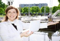 αρχιτέκτονας ευτυχής Στοκ φωτογραφία με δικαίωμα ελεύθερης χρήσης