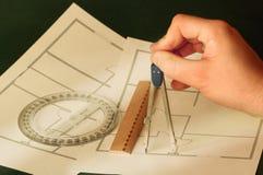 αρχιτέκτονας στοκ εικόνες με δικαίωμα ελεύθερης χρήσης