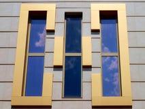 αρχιτεκτονικά Windows σχεδίο&upsilo Στοκ Εικόνες