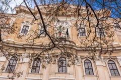 Αρχιτεκτονικές λεπτομέρειες στη Ρώμη Στοκ εικόνα με δικαίωμα ελεύθερης χρήσης