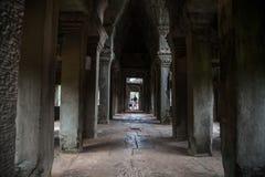 Αρχιτεκτονικές λεπτομέρειες του angkor ναών wat Στοκ Φωτογραφίες