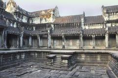 Αρχιτεκτονικές λεπτομέρειες Angkar Στοκ Φωτογραφίες