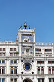 Αρχιτεκτονικές λεπτομέρειες Doge s του παλατιού, Βενετία, Ιταλία-φτερωτό λιοντάρι Στοκ φωτογραφία με δικαίωμα ελεύθερης χρήσης