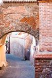 Αρχιτεκτονικές λεπτομέρειες στο Sibiu Στοκ Εικόνες