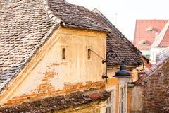 Αρχιτεκτονικές λεπτομέρειες στο Sibiu Στοκ εικόνα με δικαίωμα ελεύθερης χρήσης