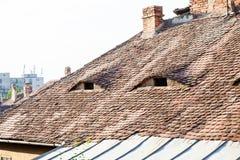 Αρχιτεκτονικές λεπτομέρειες στο Sibiu Στοκ Εικόνα