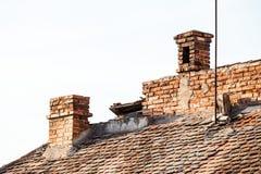 Αρχιτεκτονικές λεπτομέρειες στο Sibiu Στοκ φωτογραφία με δικαίωμα ελεύθερης χρήσης