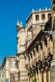 Αρχιτεκτονικές λεπτομέρειες της Κατάνια, μια πόλη στη Σικελία, Ιταλία Στοκ εικόνα με δικαίωμα ελεύθερης χρήσης