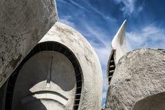 Αρχιτεκτονικές μορφές Στοκ Φωτογραφία