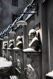 Αρχιτεκτονικές Lviv στοκ φωτογραφίες με δικαίωμα ελεύθερης χρήσης