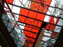 αρχιτεκτονική ανασκόπηση γεωμετρική Στοκ εικόνα με δικαίωμα ελεύθερης χρήσης